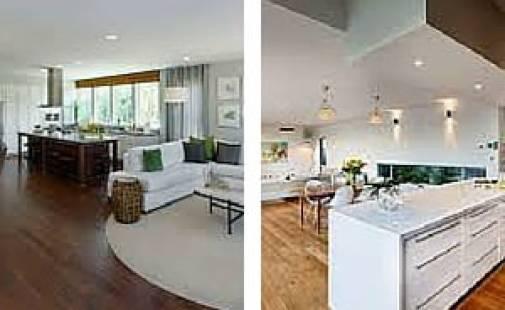 How to define spaces in your open floor plan home