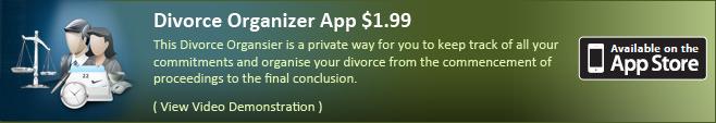 Divorce Organizer App