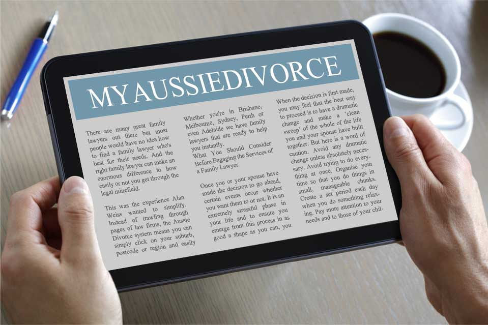 My AussieDivorce