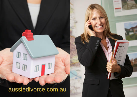 A real estate agent lady by Aussie Divorce
