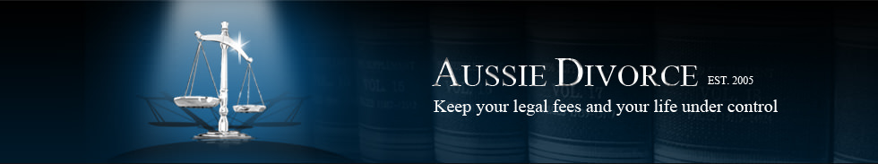 At Aussie Divorce we aim to revolutionise the way divorce proceedings are conducted. Established in 2005
